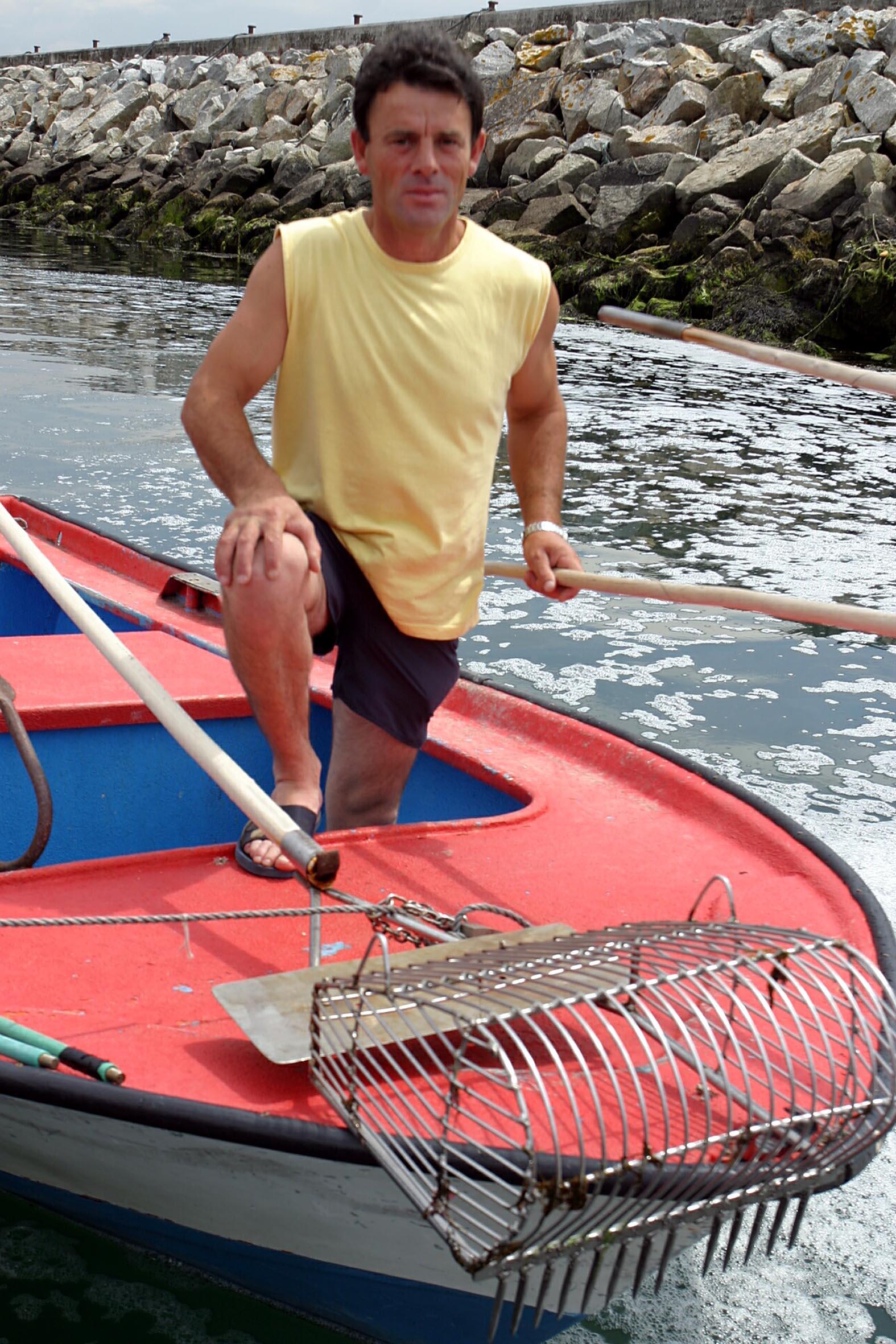 Javier Vilas, marinero de Cambados <br>Martina Míser