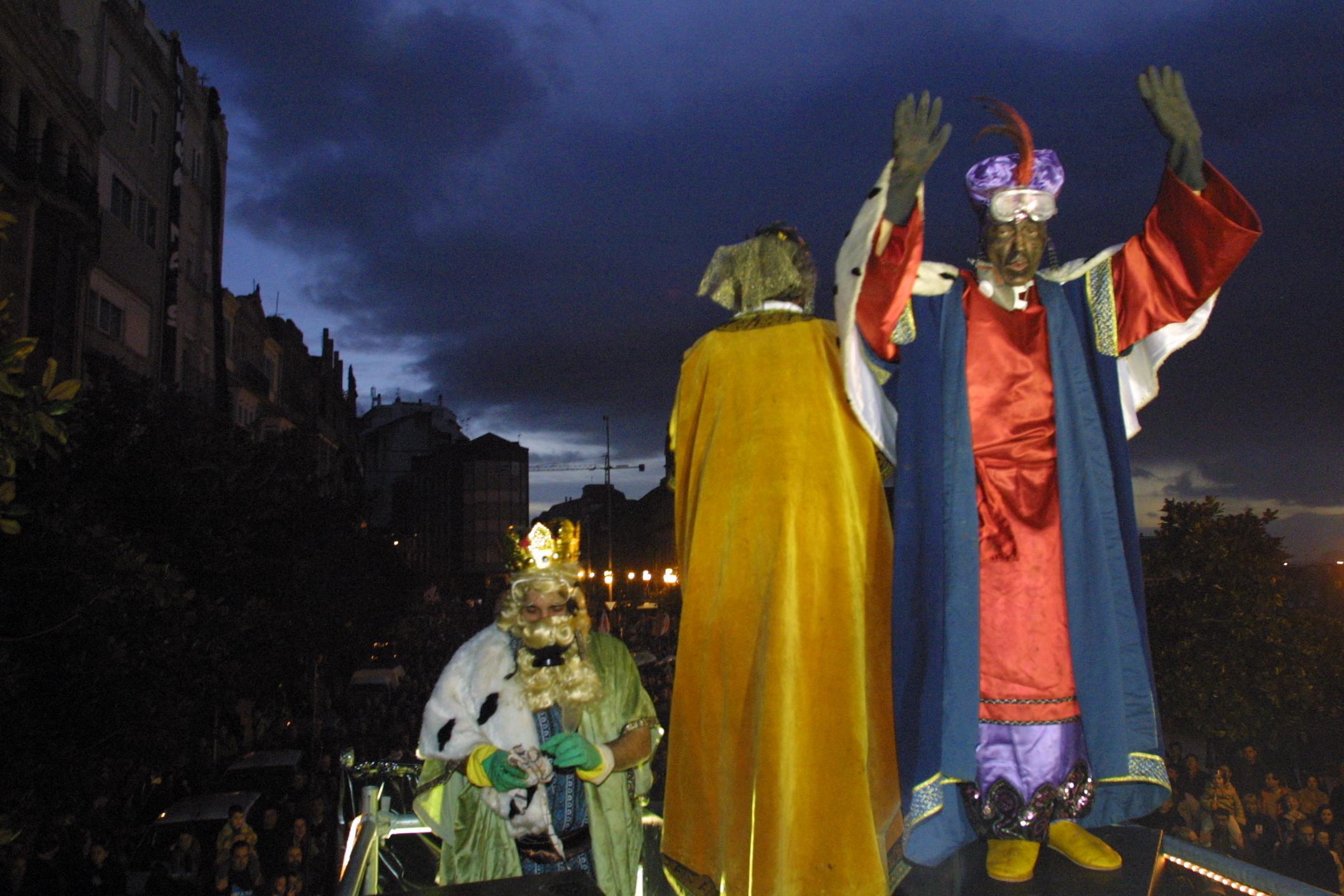Burla Negra organiza un acto de protesta por las calles de Vigo <br>Capotillo