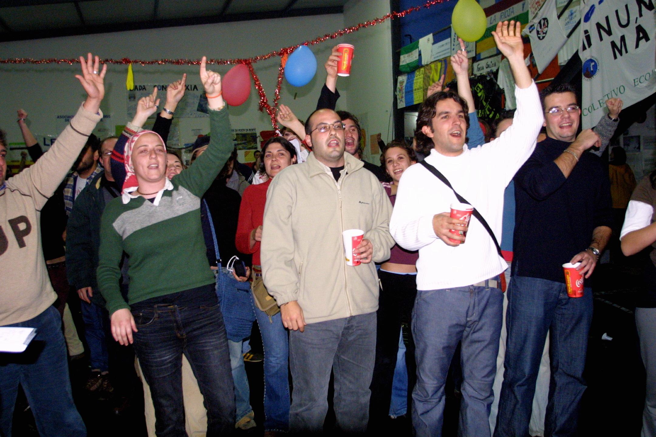 Fiesta en Muxía. <br><b>José Manuel Casal</b>