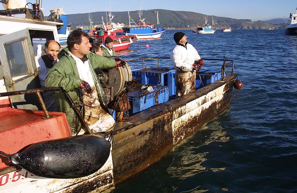 Mariscadores de Fisterra <br>José Manuel Casal
