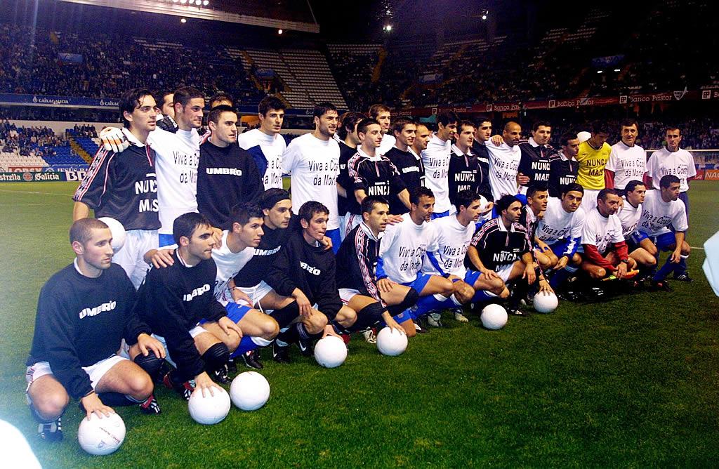 El Deportivo accedió a jugar  un amistoso contra un combinado de la Liga de la Costa para destinar fondos contra el fuel <br>Ana García