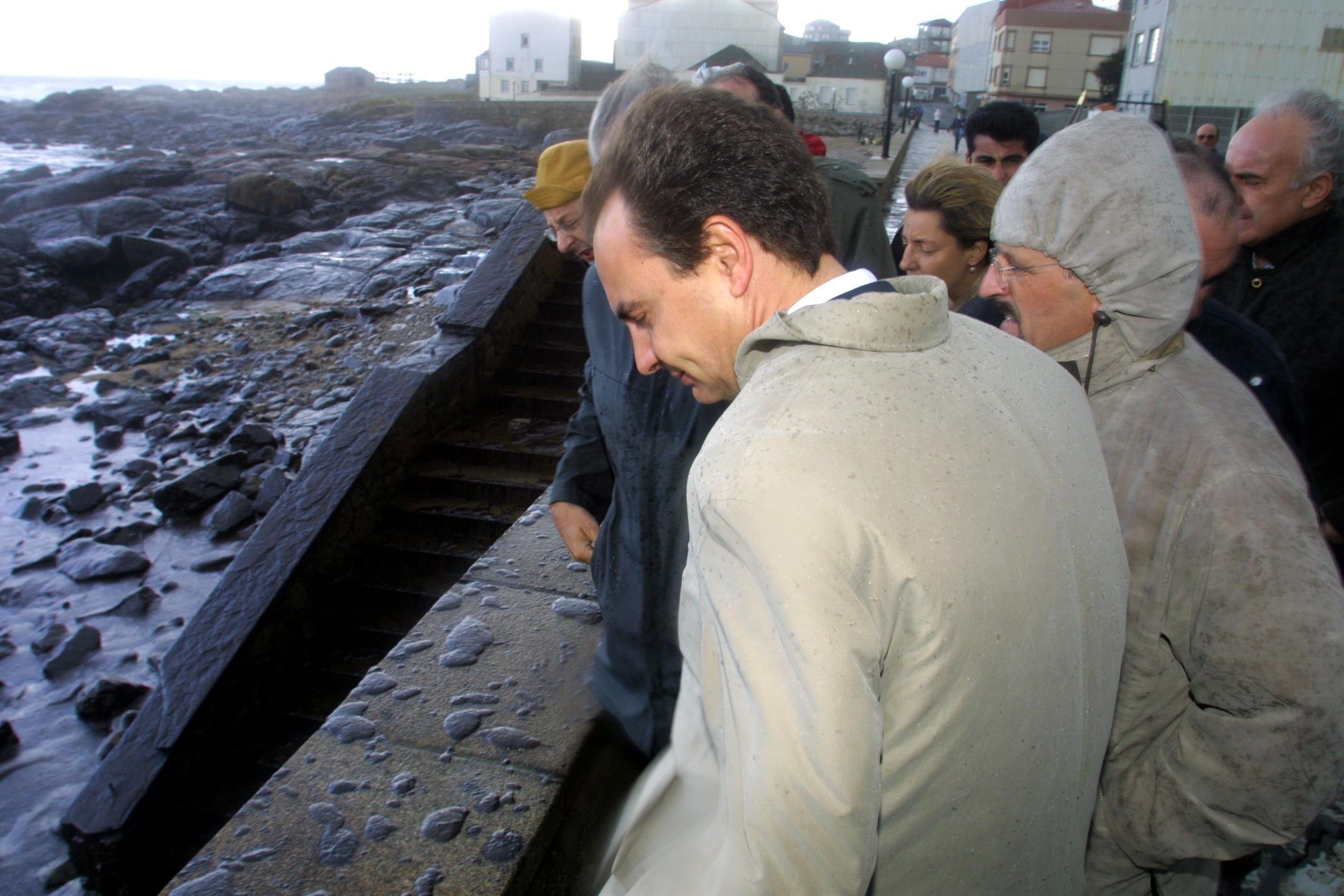 Zapatero visita Muxía <br> <b>José Manuel Casal</b>