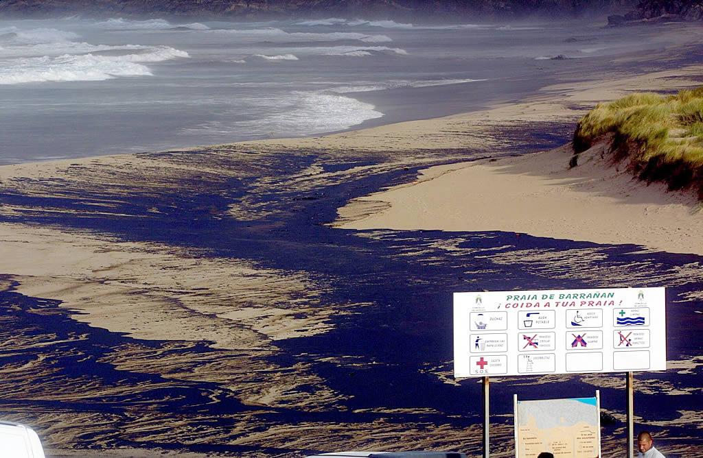 Playa de Barrañán, en Arteixo <br>José Castro