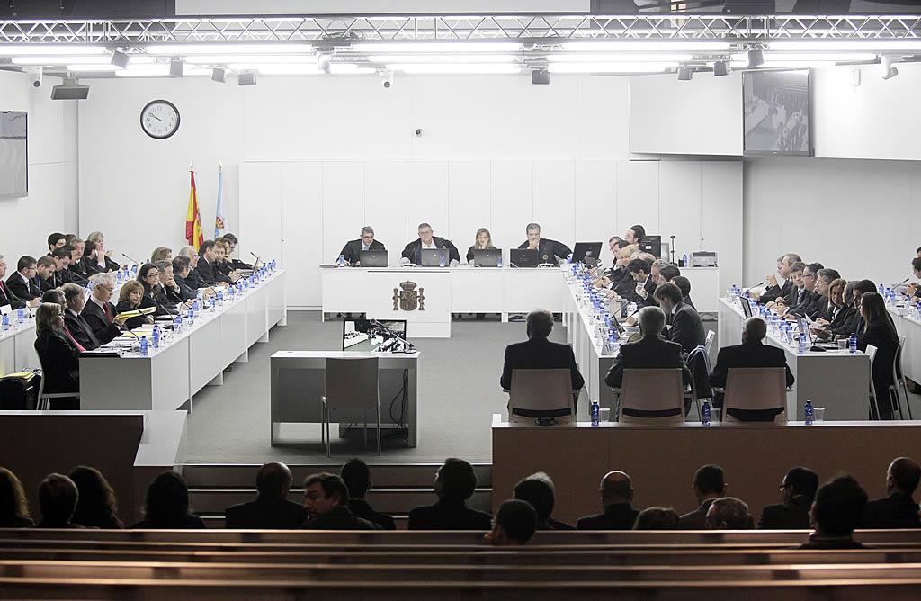 La sala donde se celebrará el juicio. <br><b>Gustavo Rivas</b>