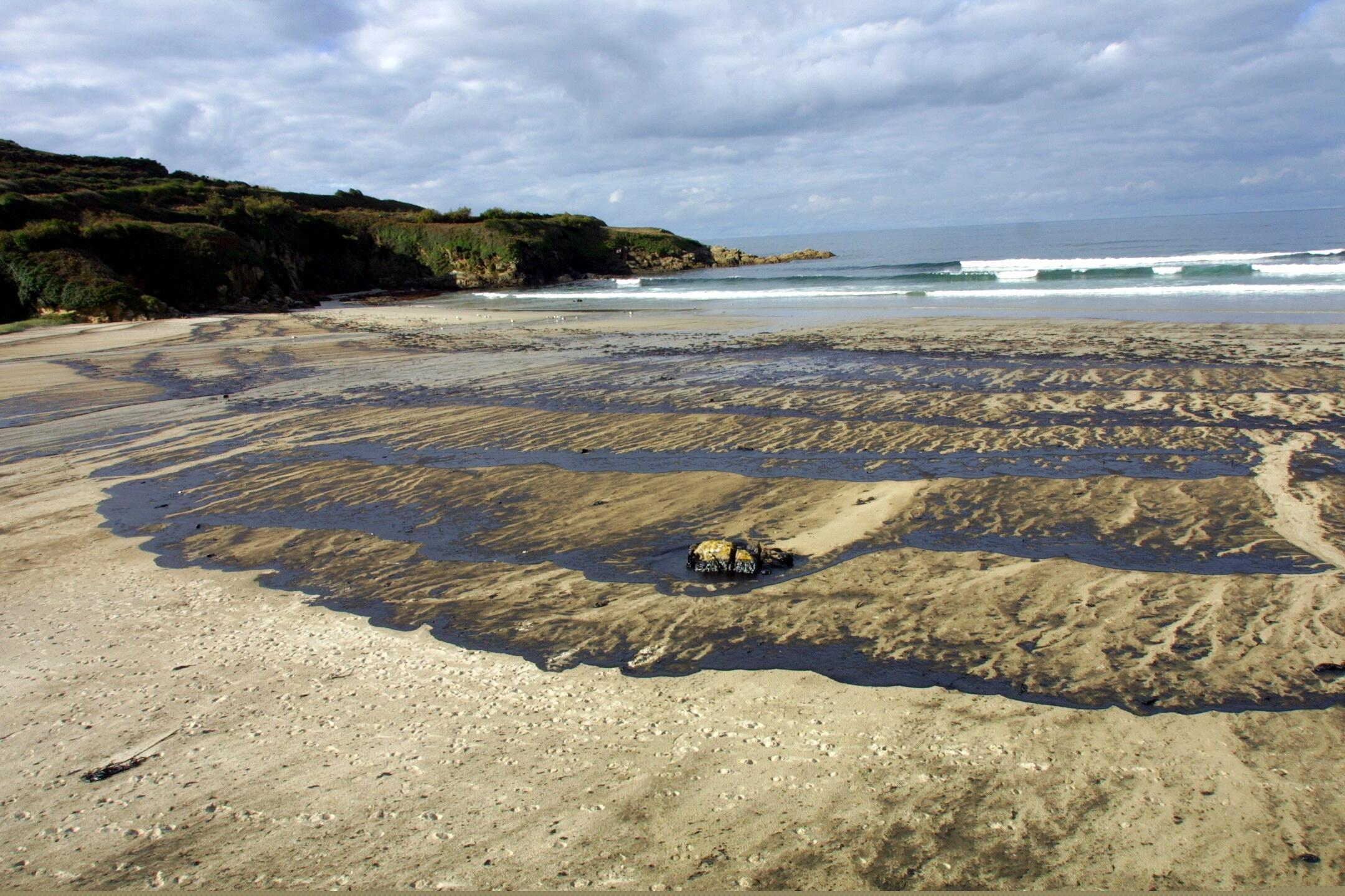 Playa de Caión, en A Laracha <br>César Quian