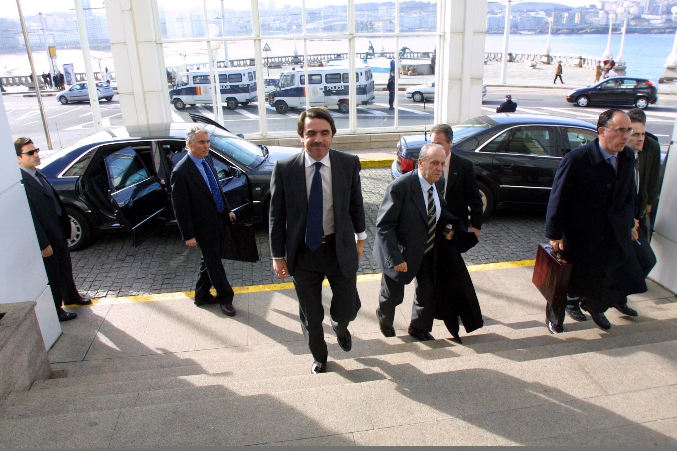 El Gobierno celebra un Consejo de Ministros extraordinario en María Pita <br>César Quian