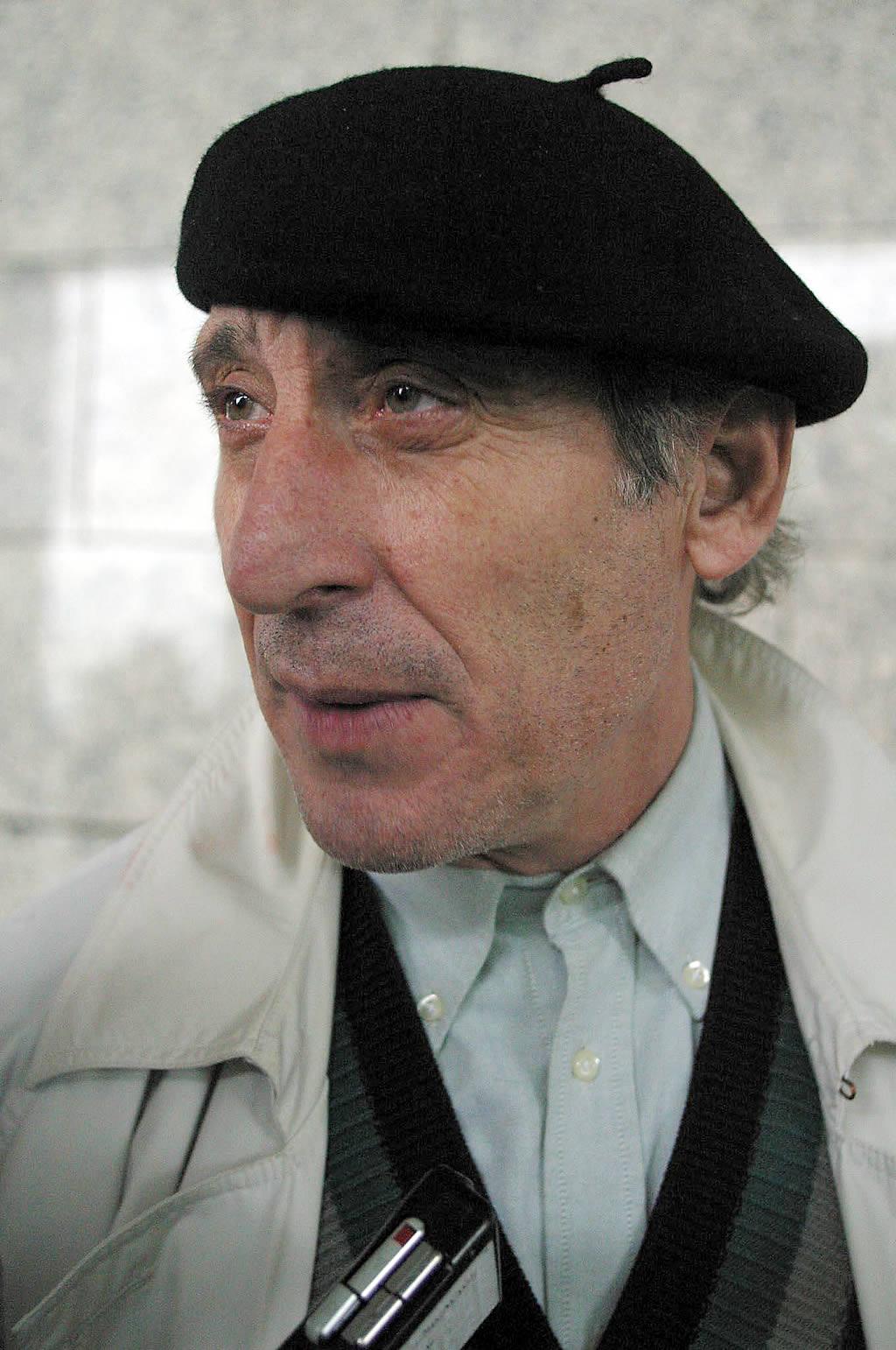 El actor Celso Bugallo, indignado con la marea negra <br>Xoan A. Soler