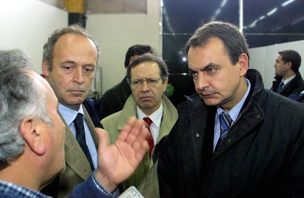 visita de Zapatero a Baiona <br>Óscar Vázquez